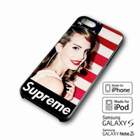 Lana Del Rey Supreme American Flag iPhone case 4/4s, 5S, 5C, 6, 6 +, Samsung Galaxy case S3, S4, S5, Galaxy Note Case 2,3,4, iPod Touch case 4th, 5th, HTC One Case M7/M8