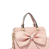 BOW REGARD SMALL SATCHEL