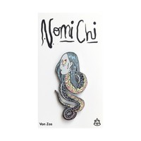 Snake Pin by Nomi Chi | Von Zos