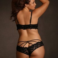 1d07fa2a3de Plus Size Naughty Indulgence Open Cup from Hips   Curves