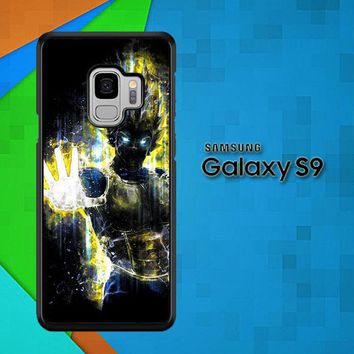 Dragon Ball Z Vegeta Bad Man Saiyan Prince L1405 Samsung Galaxy S9 Case