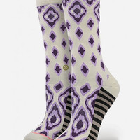 Stance Dreamer 2 Womens Everyday Socks Natural One Size For Women 25912542301