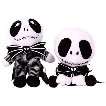 The Nightmare Before Christmas Jack Skellington Plush Doll Toy Halloween Toys High Quality