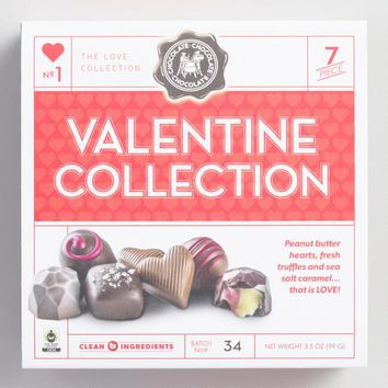 Craft Chocolate Bars Valentine Collection Box