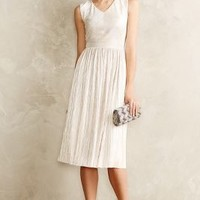 Pleated Eclat Dress by Ivy & Blue Silver