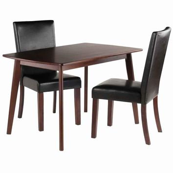 Shaye 3-PC Set Dining Table w/ Chairs