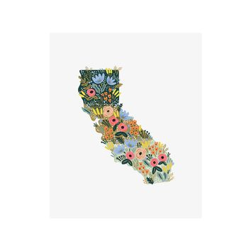 California Wildflowers Art Print by RIFLE PAPER Co. | Made in USA