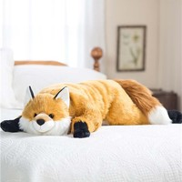 Fuzzy Fox Body Pillow