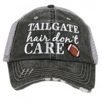 Katydid Tailgate Hair Don't Care Trucker Hat