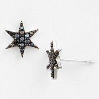Women's Sugar Bean Jewelry Star Stud Earrings