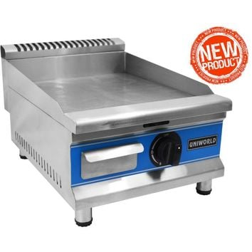 """Commercial Kitchen Countertop Economy Gas Griddle 16"""""""
