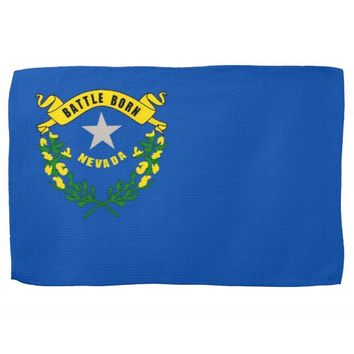 Kitchen towel with Flag of Nevada, U.S.A.