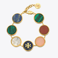 Tory Burch Semiprecious Multi Bracelet