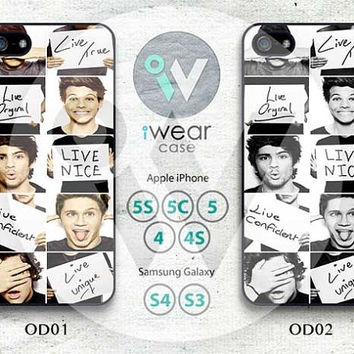 One Direction iPhone 4 Case,One Direction iPhone 4 4g 4s Hard Case,cover skin case for iphone 4/4g/4s case