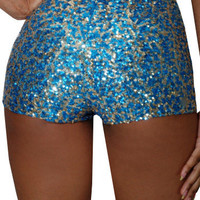 Alvy (Turquoise/Light Gold)-Great Glam is the web's best online shop for trendy club styles, fashionable party dresses and dress wear, super hot clubbing clothing, stylish going out shirts, partying clothes, super cute and sexy club fashions, halter and t