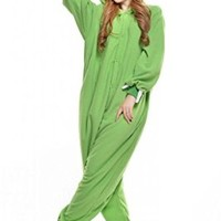 Mike Wazowski Cosplay Costumes Kigurumi Anime Outfits Adults Pajamas Onesuit
