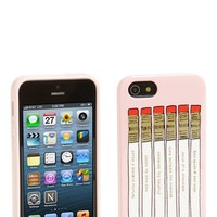 kate spade new york 'pencil case' iPhone 5 & 5S case | Nordstrom