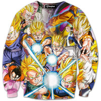 Super Saiyan Collage Crewneck