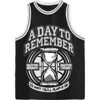 A Day To Remember Men's  2nd Sucks Basketball  Jersey Black