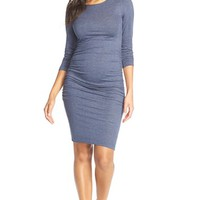 Women's Tart Maternity 'Presley' Ruched Body-Con Maternity Dress,