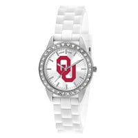 Oklahoma Sooners NCAA Women's Frost Series Watch