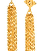 Women's gorjana 'Faryn' Fringe Drop Earrings - Gold