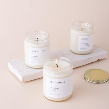 Pick 3 Minimalist Jar Candles ($72 Value)
