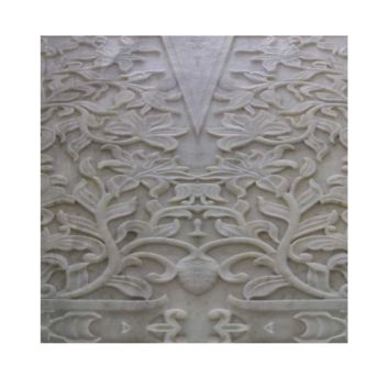 Marble Carving Silk Sq.