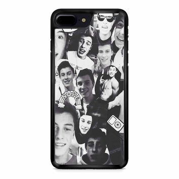 Shawn Mendes Black And White Collage iPhone 8 Plus Case