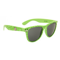 Invader Zim Green Gir And Piggy Retro Sunglasses