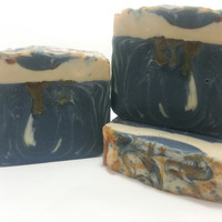 Blue Sugar Luxurious Hemp Soap, Homemade Cold Process, Aquolina type