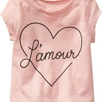 Old Navy Graphic Hi Lo Tee For Baby