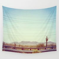Desert Wall Tapestry by Whitney Retter