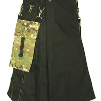 US Military Cam Hybrid Hand Made Kilt