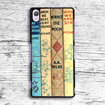 winnie the pooh old book Sony Xperia Case, iPhone 4s 5s 5c 6s Plus Cases, iPod Touch 4 5 6 case, samsung case, HTC case, LG case, Nexus case, iPad cases