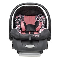 Baby Infant Car Seat Car Vehicle Girl Connect Base Safety Evenflo Embrace Lx New