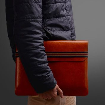 Universal Leather Laptop Sleeve