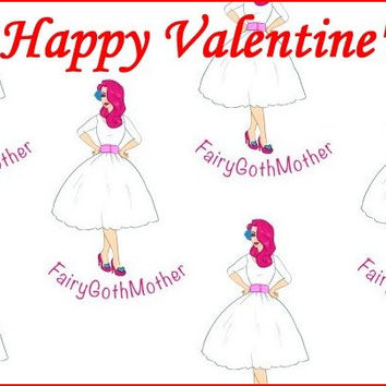 FairyGothMother Gift Card Happy Valentine's