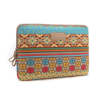 "8"" 10"" 11.6"" 12.1"" 13.3"" 14"" 15.6""Bohemian Laptop Cover Sleeves Waterproof Shakeproof Case for DELL ThinkPad MacBook SONY HP SAMSUNG"