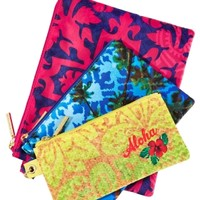 Cosmetic Bag Trio Say Aloha to Hawaii