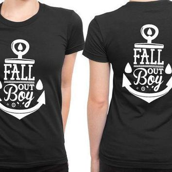 Fall Out Boy Cakram 2 Sided Womens T Shirt