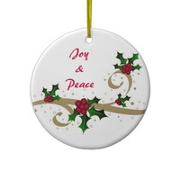 Joy & Peace - Ornament