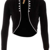 Black contrast trim cardigan - View All - New In - Dorothy Perkins