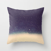 Star drops Throw Pillow by Printapix