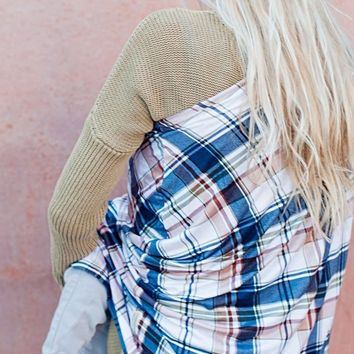 Multi-use Nursing Cover Plaid