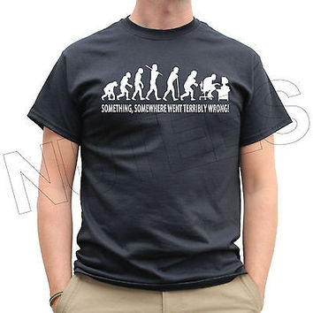What Went Wrong?Something Went Wrong Funny Men's Ladies Kid's T-Shirt S-XXL