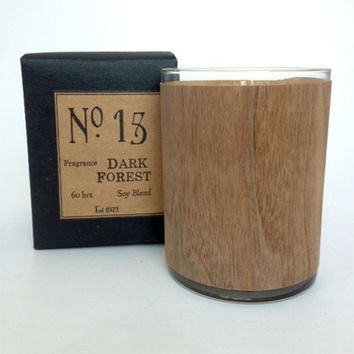 Dark Forest Wood Candle No. 15