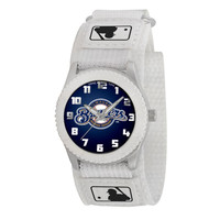Milwaukee Brewers MLB Kids Rookie Series Watch (White)