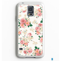 Pink Carnations Floral Samsung Galaxy S7 Case Aneend