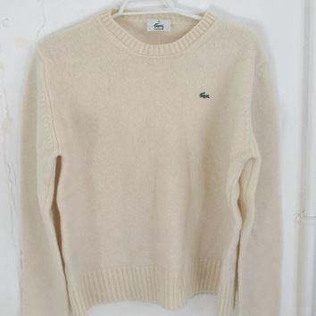 Vintage Lacoste Womens Jumper